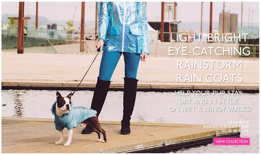 View Urban Pup Dog Rain Coats & Lightweight Jackets