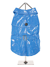 Kensington Waterproof Trench Coat  - This iconic high gloss trench coat is a key piece for any winter wardrobe and represents an exciting twist on this classic wardrobe staple. It is 100% waterproof with a leash hole to allow a harness to be worn underneath the coat. This sophisticated yet practical trench coat has a fully adjustable b...