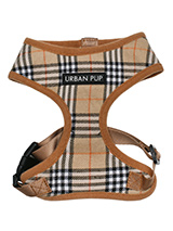 Brown Checked Tartan Harness - Another coat from our premium range of quilted coats. This is a luxuriously parka coat with a fur trimmed detachable hood. It gives your dog two styles in one; wear it as a parka or, when the hood is removed, it can be worn as a coat. The arms and hem are elasticated for a great fit. It fastens from...