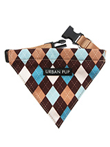 Brown & Blue Argyle Bandana - Our Brown & Blue Argyle Bandana is a traditional Scottish design which represents the Clan Campbell of Argyll in western Scotland. It is stylish, classy and never goes out of fashion. Used for kilts and plaids, and for the patterned socks worn by Scottish Highlanders since at least the 17th century....