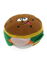 The Big Burger Toy - This is one burger that is completely calorie free but still looks delicious. With its juicy burger, lettuce and slice of cheese it is just impossible to resist. The harder your pup bites the more it squeaks and the more fun is had by all. These soft, cute and cuddly toys are designed for your dog t...