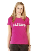 Legally Blonde ''HARVARD'' Women's T-Shirt - If you want the authentic Legally Blonde look then this HARVARD t-shirt is for you. Slip on this beautiful t-shirt and step right into character to be a part of this all singing, all dancing, feel good musical comedy. Match it up with our HARVARD dog t-shirt for maximum impact and maximum fun. As El...