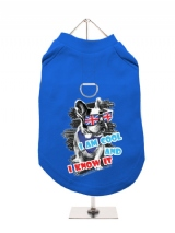 ''Cool And Know It'' Harness-Lined Dog T-Shirt