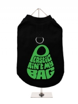 ''Plastic Aint My Bag'' Harness-Lined Dog T-Shirt
