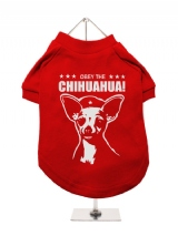 ''Obey The Chihuahua'' Dog T-Shirt