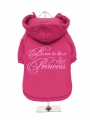 ''Born To Be A Princess'' Dog Sweatshirt