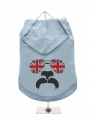 ''GB: Shades and Tash'' Dog Hoodie