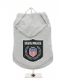 ''State Police'' Dog Hoodie
