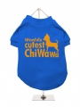 ''Worlds Cutest ChiWaWa'' Dog T-Shirt