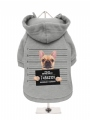 ''Police Mugshot - French Bulldog'' Dog Sweatshirt