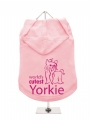 ''Worlds Cutest Yorkie'' Dog Hoodie