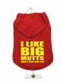 ''I Like Big Mutts'' Dog Hoodie