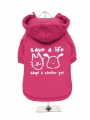 ''Save A Life, Adopt A Shelter Pet'' Dog Sweatshirt