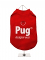 ''Pug Designer Wear'' Harness T-Shirt