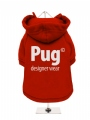 ''Pug Designer Wear'' Dog Sweatshirt