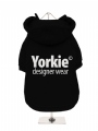 ''Yorkie Designer Wear'' Dog Sweatshirt