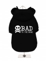 ''Bad To The Bone'' Dog Sweatshirt