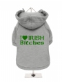 ''St. Patrick: I Love Irish Bitches'' Dog Sweatshirt