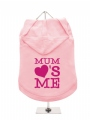 ''Mothers Day: Mum Loves Me'' Dog Hoodie