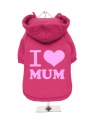 ''Mothers Day: I Love Mum'' Dog Sweatshirt