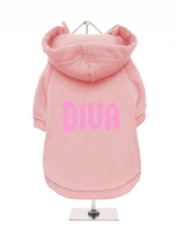 DIVA - Fleece-Lined Dog Hoodie / Sweatshirt