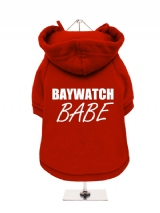 BAYWATCH | BABE - Fleece-Lined Dog Hoodie / Sweatshirt