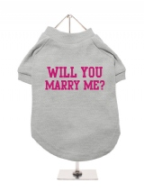 WILL YOU | MARRY ME? - Dog T-Shirt